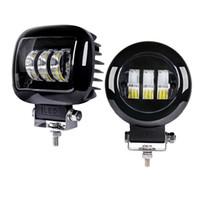 La luz de la niebla del automóvil del automóvil LED de 4.5 pulgadas 30W LED más nueva Luz de niebla del automóvil de coche 4x4 LED para ATV UTV SUV Tractor Offroad 12V 24V Barra de luz