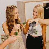 6shot Cam Dağıtıcı Tutucu Şarap Dağıtıcı Taşıyıcı Likör Dağıtıcı Parti İçecek İçme Oyunları Bar Kokteyl Şarap Pourer