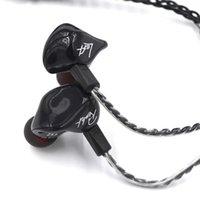 KZ ZS3 이어폰 이어폰 HiFi 잡음 취소 헤드셋 유선 헤드폰 이어폰 iPhone 용 마이크가있는 Earbuds 삼성 안드로이드 스마트 폰