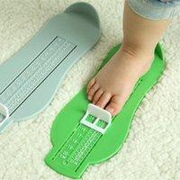 İlk Yürüyüşe Ayak Ölçümü Ölçer 7 Renkler Bebek Çocuk Cetvel Ayakkabı Boyutu Ölçme Uzunluğu Büyüyen Uydurma Aracı Önlemleri