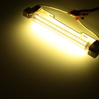 R7S 144 LED 15W 189MM 1450LM 2835 SMD AC85-265V Lampadina Lampadina Lampada di mais Floodlight dimmerabile 360 gradi illuminazione alta luminosità calda bianca