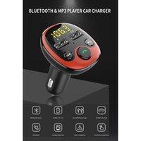 MP4 jogadores sem fio Bluetooth FM transmissor Handsfree Kit de carro jogador USB 3.1A carregador