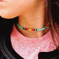 Colleghe Uddein Bohemian Maxi Collana per le donne Gioielli Party Max Color Bib Bib Beads Pendant Dichiarazione Choker Sempler Collar1