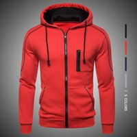 Autumn New Hoodie for Mens Casual Solid Long Sleeve Male Hoo...
