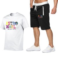 Men women Tracksuit Men' s Sportswear T Shirts+ Pants sui...