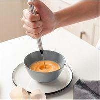 الفولاذ المقاوم للصدأ الكهربائية eggbeater المطبخ الخبز ضربات الحليب بيضة قوي frother خلاط القهوة وأدوات المطبخ الإبداعي T9I00644