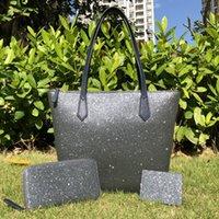 여성 Luxurys 디자이너 가방 전체 빈티지 반짝이 크로스 바디 + 지갑 + 카드 홀더 세트 가족 큰 어깨 총 가방 지갑 핸드백