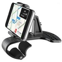 Teléfono celular soportes Soporte XMXCZKJ Accesorios móviles GPS Soporte de automóvil Sin deslizamiento Silicone Pad con una placa de número temporal para 11 81