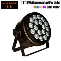 18X18W RGBWA + UV nicht wasserdichte LED-Gleichheits-Licht, IP65 LED PAR DMX LED-Washlight Discolicht professionelle Bühne DJ-Equipment
