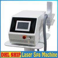 Machine d'élimination de tatouage au laser Q Switch ND Yag Laser Pigment Pigment Tatouage Scar Cicatrice Traitement Acne Traitement de la peau Équipement de beauté laser de rajeunissement