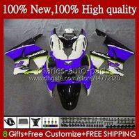 Kropp för Honda CBR 893RR 900RR Blue White CBR900 CBR893 900 893 CC RR 95HC.136 CBR900RR 1994 1995 1996 1997 CBR893RR 94 95 96 97 Fairings