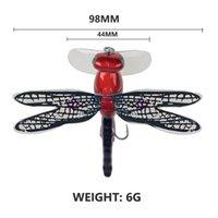 98 ملليمتر 6 جرام توبووتر اليعسوب الجاف الذباب الحشرات يطير الصيد إغراء السلمون السهل