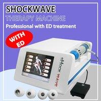 Ağrı Tedavisi Erektil ED Shockwave Terapi / Sokaralandırıcı Terapi Makinesi / Selülit Kilo Kaybı Makinesini Azaltın