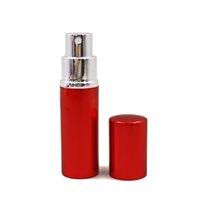 10ml frasco de perfume mini portátil perfume de alumizador atomizador de alumizador Viajante de frasco esvaziadores garrafas vazias para cosméticos ljjk2508-1