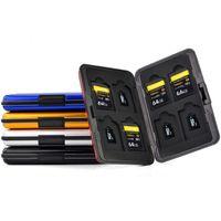 합금 금속 방수 SD 카드 TF 카드 캐리 케이스 8 TF 카드 8 SD 카드 디자인