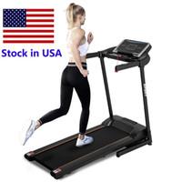 USA Stock ECTIL TRADMILL MOTORISIERTE LAUFEN Machine für Frauen Startseite Fitnessstudio Verwenden Sie Sportmöglichkeit Hohe Qualität MS192920AAB