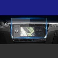 GPS Car Navigation Film in acciaio per Skoda Octavia Superb 2017-2019 Controllo centrale Schermo LCD Glass Temperato HD Protective Film