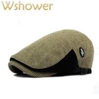 Hangi Duşta Patchwork Kadın Erkekler Için Patchwork Örme Şapka Tığ Sonbahar Kış Ördek Gölet Düz Kedi Erkek Kadın Sboy Kap Kemik