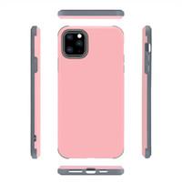 Capas duales 2 en 1 Matte Commuter Case para iPhone 12 11 Pro Max XR 8 7 Samsung S20 Note20 más Ultra