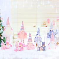 New Christmas Gnomi Gnomi retrattibili Doll Doll Decorazione natalizia Creativo Regali di Natale Finestra Decorazione di Natale Forniture XD24131