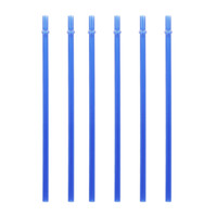 PP-Material Saugrohre Multicolour Wiederverwendbare Trinkhalm Verdickung Transluzent Tubularis Verschluss Home Bar Glass Cup Heißer Verkauf 0 2SZ N2