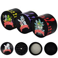 GR002 Tobacco Grinder 4 layers Cookie&Backwoods Herb Metal G...