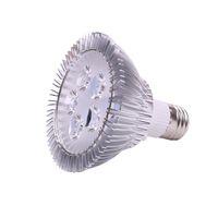 실내 조명 LED 5W PAR30 E27 스포트라이트 전구 AC 110V 220V DC 12V 높은 파워 스팟 램프 콜드 화이트 레드 블루 그린