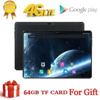 10-Zoll-Tablet-PC Octa-Kern 3GB + 64 GB (32 GB + 64GB-Karte) 4G LTETAB-Telefon GPS Bluetooth Android-Tablet 2.4G + 5G Wifi 1920x12001