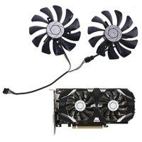 Ventilatori Coolings 1 Pair 85mm HA9010H12F-Z Sostituzione della ventola di raffreddamento 4pin per MSI GTX 1060 OC 6G 960 P106-100 P106 GTX1060 GTX9601