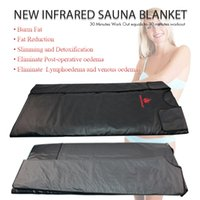 New Model única zona de aquecimento Terapia Far Infrared corpo emagrecimento Sauna Blanket Magro Bag SPA drenagem linfática Body Detox Máquina