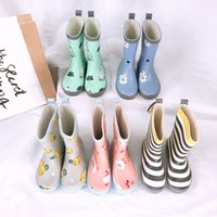 Celveroso Rain Boots Kids Girl Cute cartoon Printed Children...