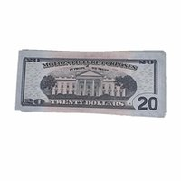 Mostrar Magic 100pcs / pack TGHVS TOYS TRABAJO DIRECTO COPIENTE DINERO ENVÍO 10F EE. UU. Dólar Bill Fake Fast Movie Props FXBJW