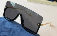 New fashion design sunglasses 0540S connected lens big size half frame with small star decoration avant-garde popular goggle top quality