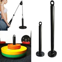 Fitness Loading Pin Puleggia Cable System Attachment Allenamento Forza di allenamento Esercizi Lifting Rack per le donne Peso Dumbbbe