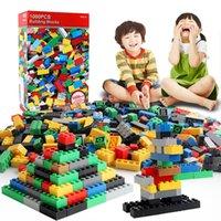 1000 Piezas DIY BLOCK BLOQUEO Fabricación de grupos a granel Conjunto Máquina de bloques Montaje Brinquedos Niños Juguetes educativos Máquina bloques