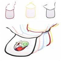 Önlüğü bebek tükürük havlu Önlüğü üreticisi toptan çocuk pirinç torbasına kadar boş dantel baskı Isı transferi 3 5EX H2 özelleştirilmiş