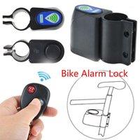سرقة حماية اللاسلكية مكافحة سرقة دراجة قفل الدراجات الأمن التحكم عن الاهتزاز إنذار دراجة موتور الملحقات 1