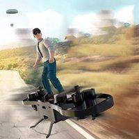 YD PUBG RC Aircraft Spielzeug, Skate Drone Fallschirmmodell, Spielthema, 360 ° Flip-Höhenlage Hold UAV, 3 Ganggeschwindigkeit, Weihnachtskinder Geburtstagsgeschenke