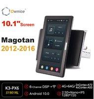 Auto Audio 10,1 Zoll 1280 * 720 Eigentor Android 10.0 Radio Forvw Magotan 2012 2013 2014 2021 Auto Multimedia GPS-Spieler drehbar