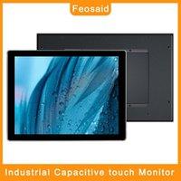 """FEOSAID 12.1 pouces Moniteur tactile capacitif industriel 12 """"Affichages d'équipement d'automatisation avec entrée VGA DVI pour PC 1024x7681"""