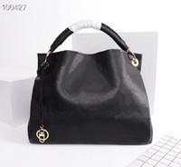 원래 고품질 패션 디자이너 럭셔리 핸드백 지갑 예술 중형 가방 여성 브랜드 클래식 스타일 정품 가죽 어깨 가방