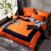Neueste Baumwolle Bettwäsche Sets Queen Größe Erwachsene Designer Baumwolle Quilt Cover Sets Kissenbezüge Bettwäsche Blech Bettbezug