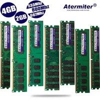 Nouveau 2GB 4GB 2G 4G DDR2 PC2-6400 PC2 5300 4200 800MHZ 667MHz 533MHz pour ordinateur de bureau DIMM Memory Memory RAM 240 Épingles Système compatible1