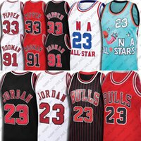 Michael Jersey 91 Dennis Rodman Jerseys 33 Scottie Pippen Jersey Chicago