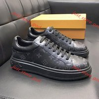 Mens Top Shoes Moda Casual Sneakers Chaussures de sport pour hommes Lace Up Luxemburgo Sneaker Zapatos de hombre Drop Ship-se