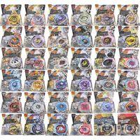 Bayblade 16pcs / lot 30 Stil BB104-BB128 4D Metall Spinning Top mit Launcher Weihnachtskinder Tag Geschenk Y200703