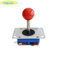 Controller di gioco Joysticks Zippy Joystick Micro Switch Zero Delay Arcade Arcade Kit fai da te per 5 V LED Pulsante Player Player Coin Avvia USB a P
