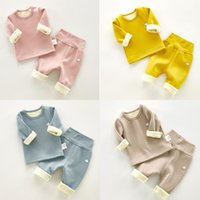 New Baby Kids Pajamas Sets Cotton Long Sleeved Tshirt Pant C...
