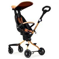 Baby Walking Tool Poussette Lightweight Kid Poussette Voyage Carrier Chariot Chariot à quatre roues pour enfants pour 1-3 ans Baby1