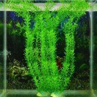 30 cm Simulazione Acquatico pianta acquatica Acqua Vanilla Erba Acquari Acquari Pesci Decorazioni Articoli Artificiali Artificiali Forniture per animali domestici Artificiali Materiale plastico
